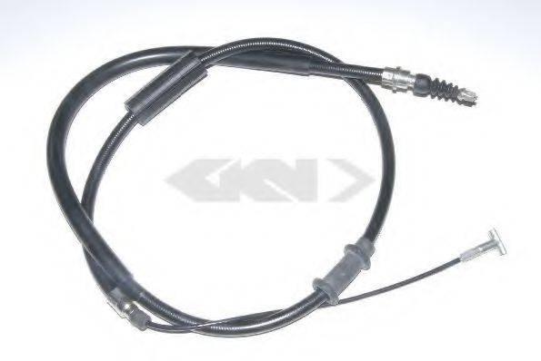 SPIDAN 41839 Трос, стояночная тормозная система