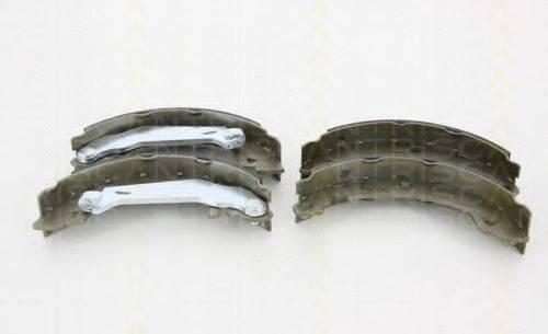 TRISCAN 810010008 Комплект тормозных колодок