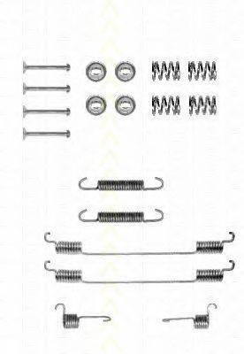 TRISCAN 8105152549 Комплектующие, тормозная колодка