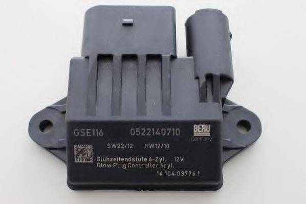 Блок управления, время накаливания BERU GSE116