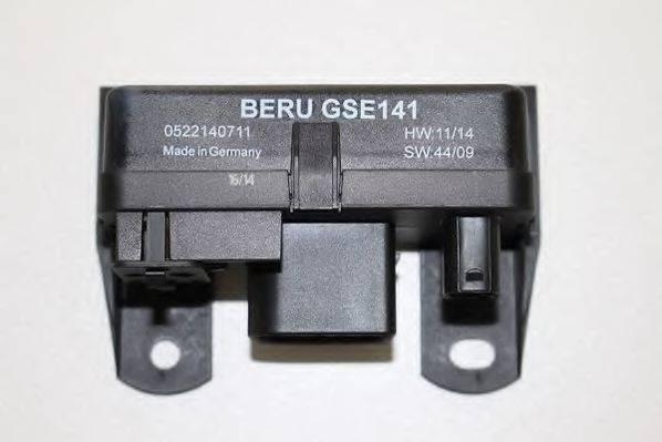 Блок управления, время накаливания BERU GSE141