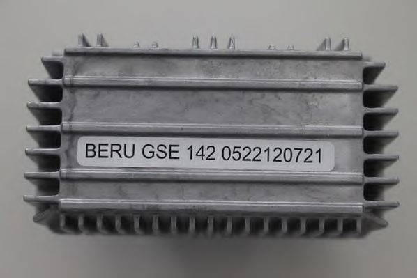 Блок управления, время накаливания BERU GSE142