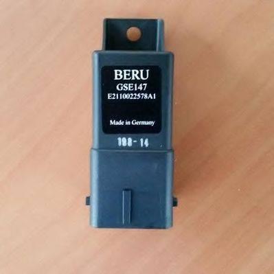 Блок управления, время накаливания BERU GSE147
