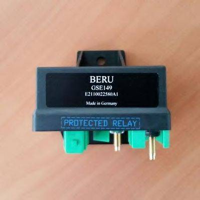 Блок управления, время накаливания BERU GSE149