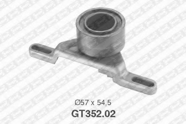 Натяжной ролик, ремень ГРМ SNR GT352.02