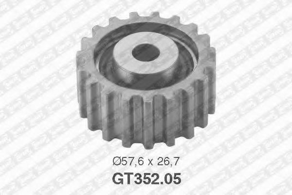 Натяжной ролик, ремень ГРМ SNR GT352.05