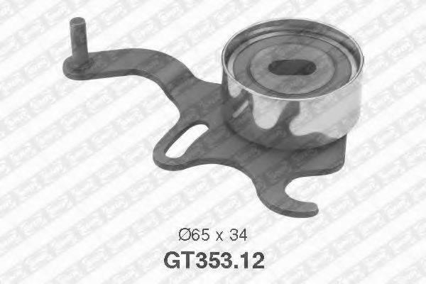 Натяжной ролик, ремень ГРМ SNR GT353.12