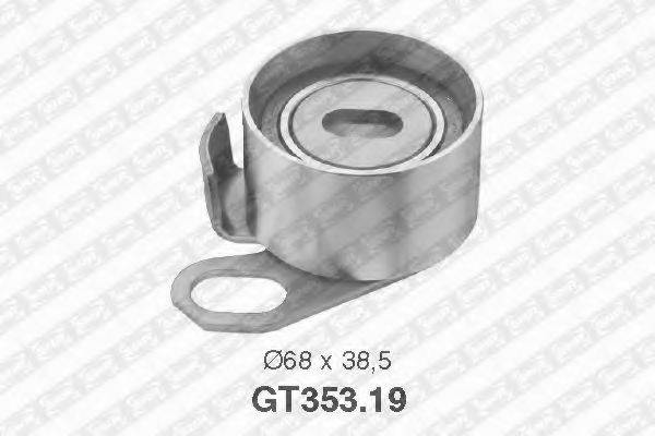 Натяжной ролик, ремень ГРМ SNR GT353.19