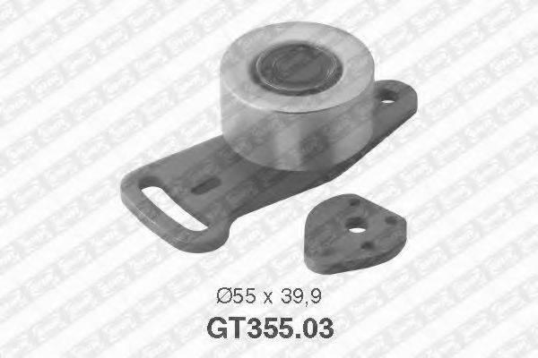 Натяжной ролик, ремень ГРМ SNR GT355.03
