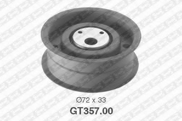 Натяжной ролик, ремень ГРМ SNR GT357.00