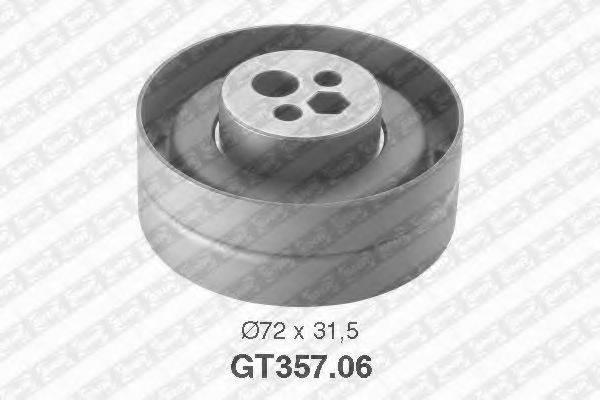 Натяжной ролик, ремень ГРМ SNR GT357.06