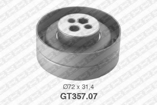 Натяжной ролик, ремень ГРМ SNR GT357.07