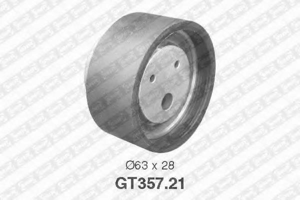 Натяжной ролик, ремень ГРМ SNR GT357.21
