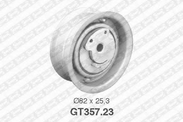 Натяжной ролик, ремень ГРМ SNR GT357.23
