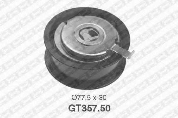 Натяжной ролик, ремень ГРМ SNR GT357.50