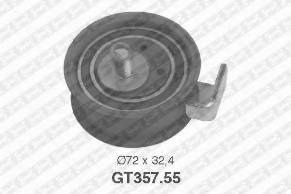 Натяжной ролик, ремень ГРМ SNR GT357.55
