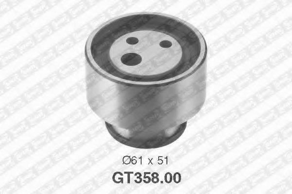 Натяжной ролик, ремень ГРМ SNR GT358.00