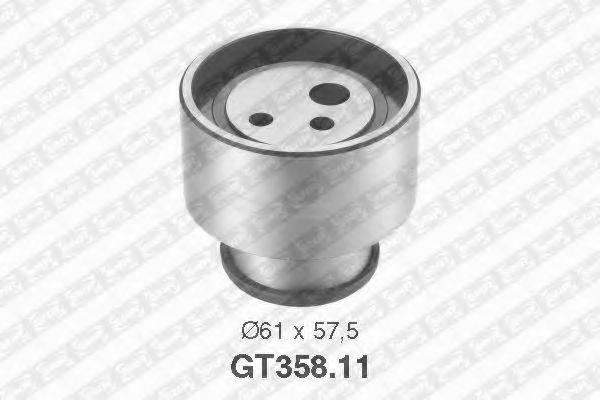 Натяжной ролик, ремень ГРМ SNR GT358.11
