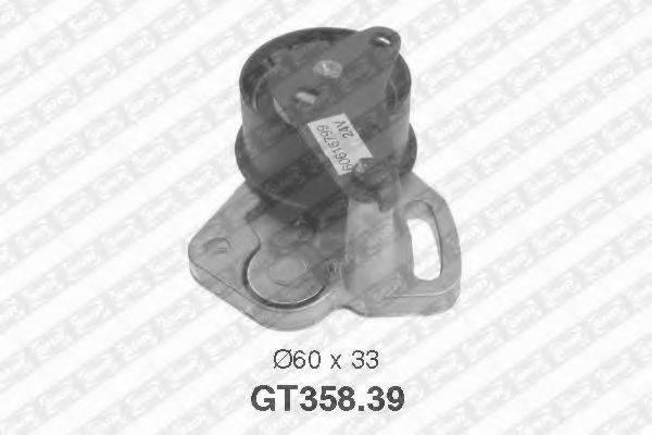 Натяжной ролик, ремень ГРМ SNR GT358.39