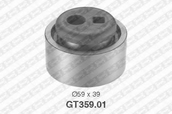 Натяжной ролик, ремень ГРМ SNR GT359.01