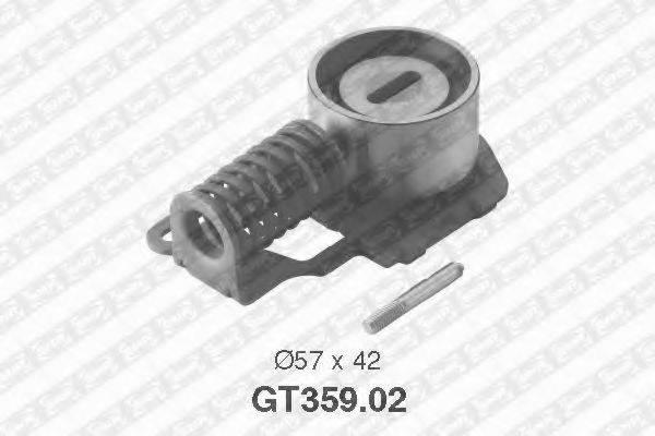 Натяжной ролик, ремень ГРМ SNR GT359.02