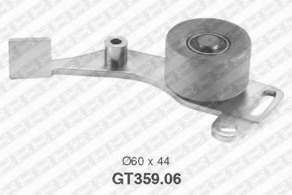 Натяжной ролик, ремень ГРМ SNR GT359.06