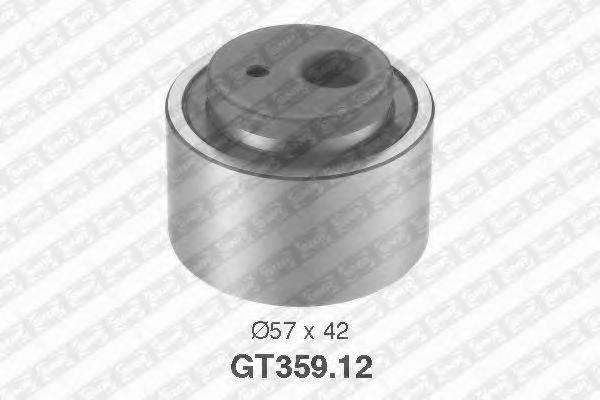 Натяжной ролик, ремень ГРМ SNR GT359.12