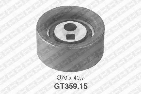 Натяжной ролик, ремень ГРМ SNR GT359.15