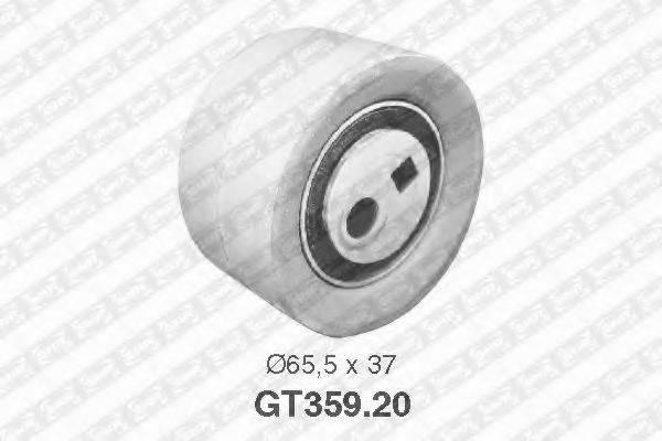 Натяжной ролик, ремень ГРМ SNR GT359.20