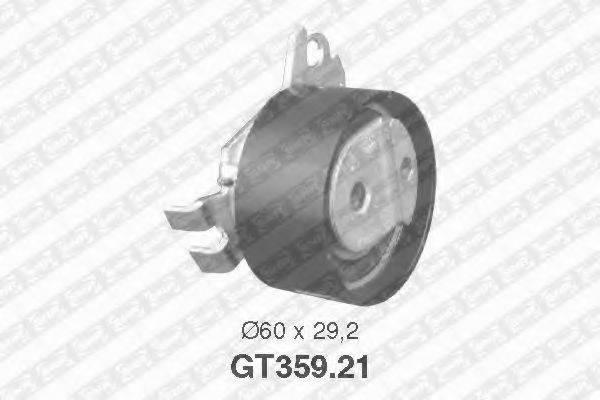 Натяжной ролик, ремень ГРМ SNR GT359.21