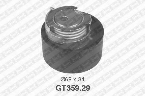 Натяжной ролик, ремень ГРМ SNR GT359.29