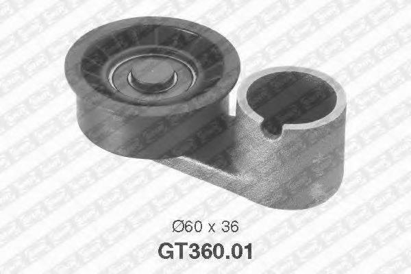 Натяжной ролик, ремень ГРМ SNR GT360.01