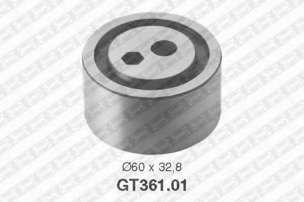 Натяжной ролик, ремень ГРМ SNR GT361.01