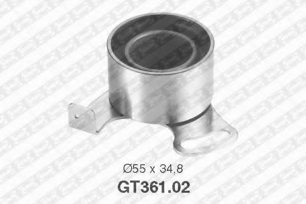 Натяжной ролик, ремень ГРМ SNR GT361.02