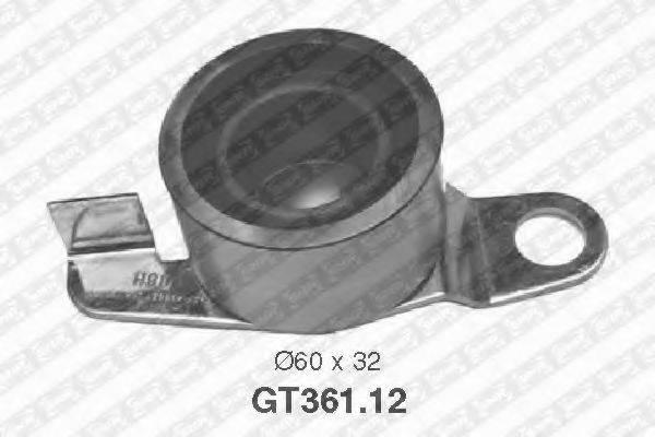Натяжной ролик, ремень ГРМ SNR GT361.12