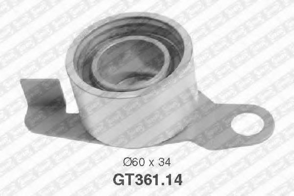 Натяжной ролик, ремень ГРМ SNR GT361.14