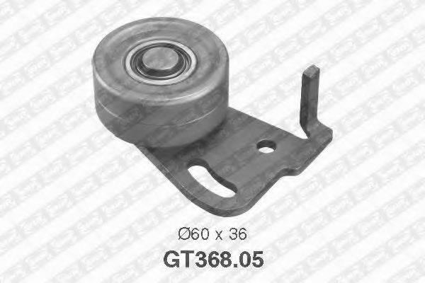 Натяжной ролик, ремень ГРМ SNR GT368.05