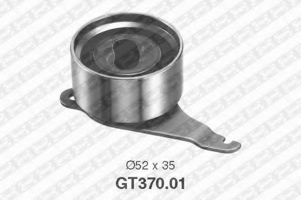 Натяжной ролик, ремень ГРМ SNR GT370.01