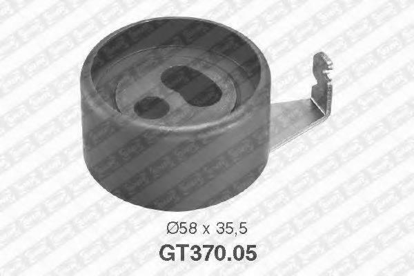 Натяжной ролик, ремень ГРМ SNR GT370.05
