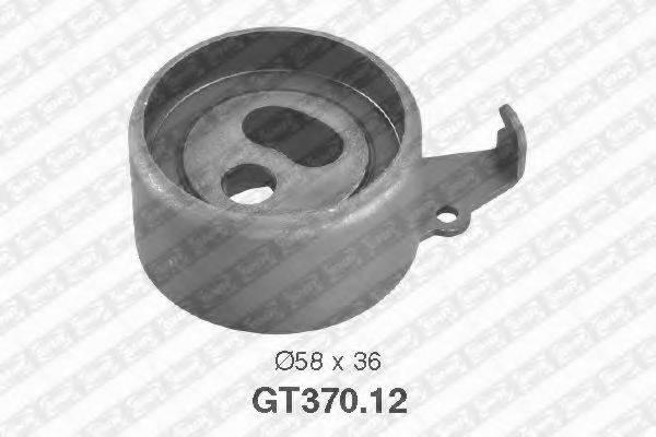 Натяжной ролик, ремень ГРМ SNR GT370.12