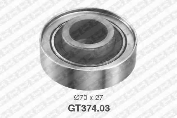 Натяжной ролик, ремень ГРМ SNR GT374.03
