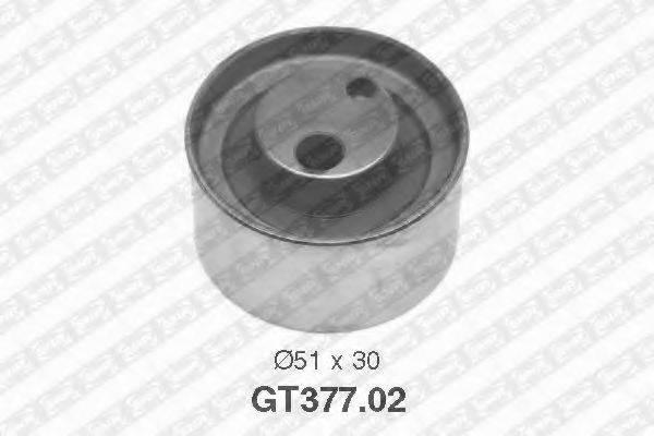 Натяжной ролик, ремень ГРМ SNR GT377.02
