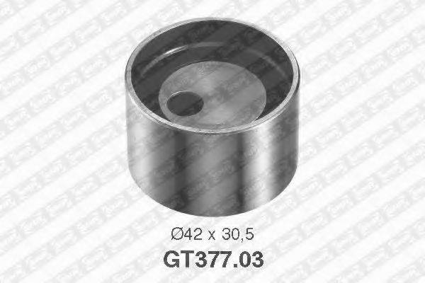 Натяжной ролик, ремень ГРМ SNR GT377.03