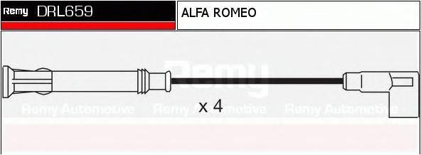 DELCO REMY DRL659 Комплект проводов зажигания