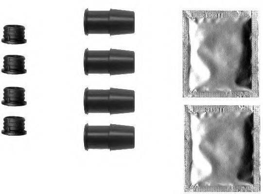 PAGID K0395 комплект принадлежностей, тормозной суппорт