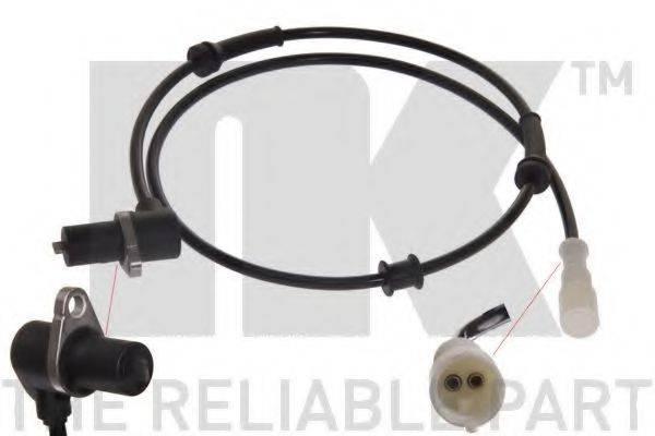 NK 291025 Датчик, частота вращения колеса