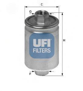 Топливный фильтр UFI 31.741.00
