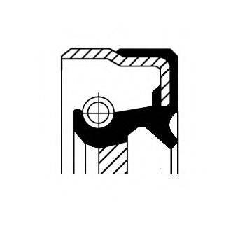 Уплотнительное кольцо CORTECO 12017221B