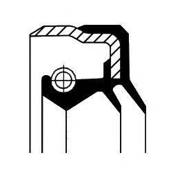 Уплотняющее кольцо, дифференциал CORTECO 12015262B
