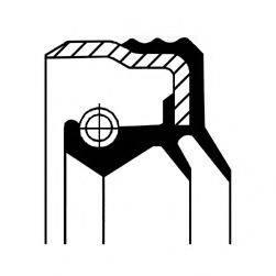 Уплотняющее кольцо, ступица колеса CORTECO 12033886B